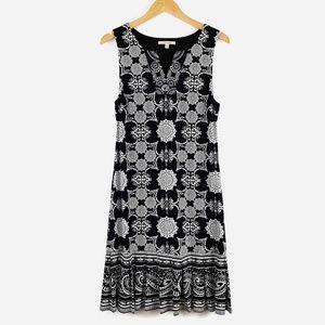 41 Hawthorn Dresses - 41 Hawthorne Kora Jersey Dress Black White Medium